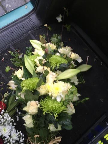 blomster hvid lime